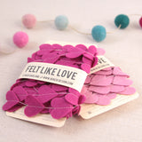 COPY Felt-fetti Small Hearts, die cut shapes