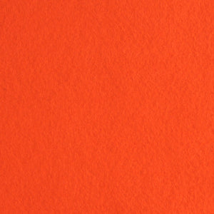 Orange Wool Blend Felt, Benzie Reserve Color