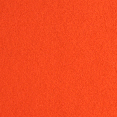 Orange Wool Blend Felt