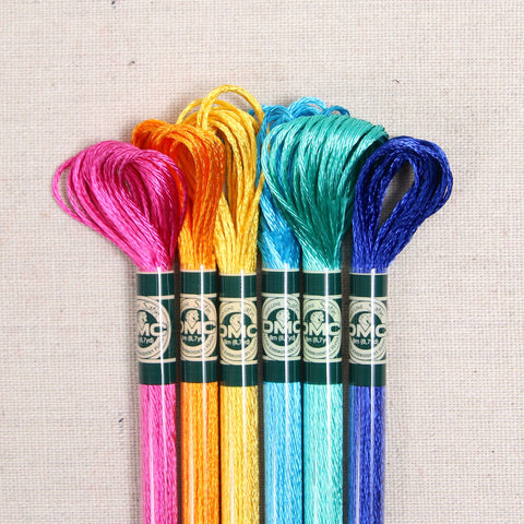 DMC Embroidery Floss, Satin