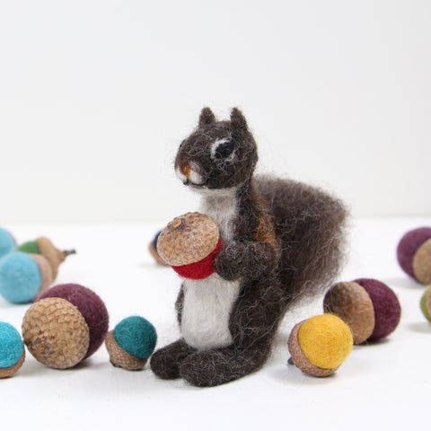 Needle Felted Squirrel Workshop - Saturday, November 16