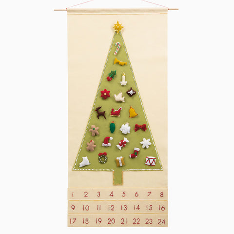Joyful & Triumphant Advent Calendar with Treasured Characters