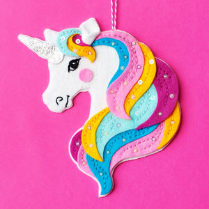 Unicorn Ornament Kit