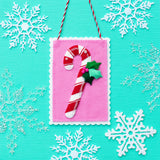 Candy Cane Ornament Kit
