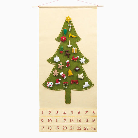 Oh, Christmas Tree Advent Calendar with Treasured Characters