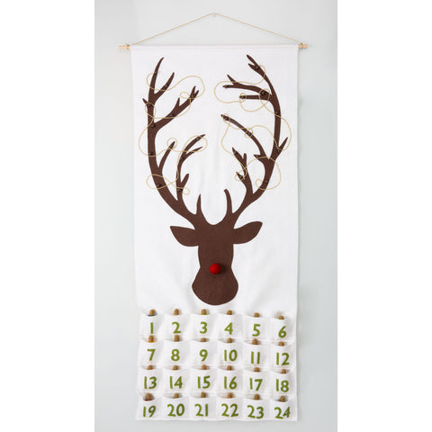 Rudolph The Red-Nosed Reindeer Classic Lights Advent Calendar Pattern