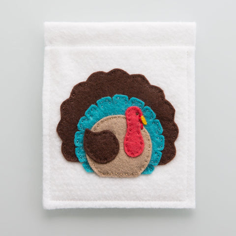 Thanksgiving Pennant Banner Pattern