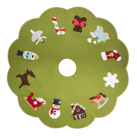 Christmas Favorites Tree Skirt Pattern