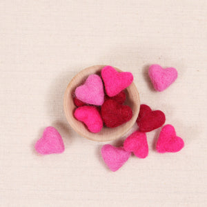 Tiny Hearts, Mixed Pink