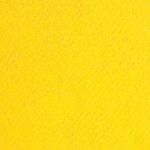 Yellow Wool Blend Felt, Limited Edition