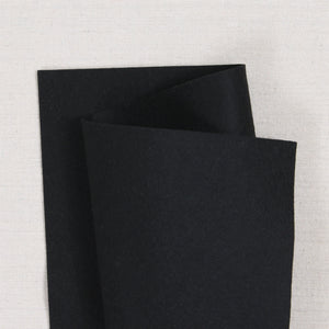 Bellwether Black Wool Felt