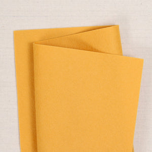 Butterscotch Pure Wool Felt