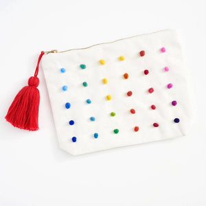 canvas pouch, cute pouch,