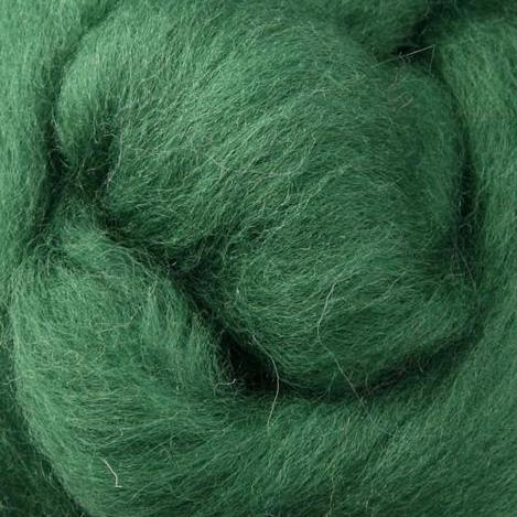 Emerald Corriedale Roving, 1oz