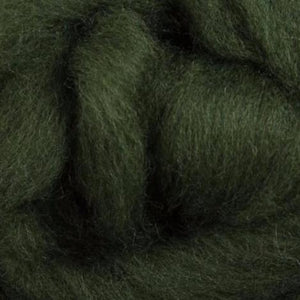 Evergreen Corriedale Roving, 1oz