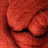 Copper Corriedale Roving, 1oz