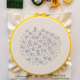 It Takes a Village Embroidery Kit