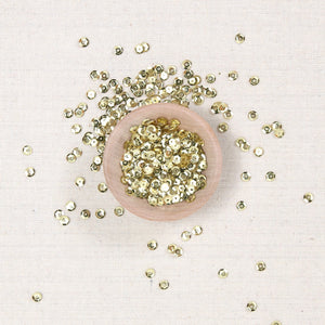 Cupped Sequins, 5mm Gold