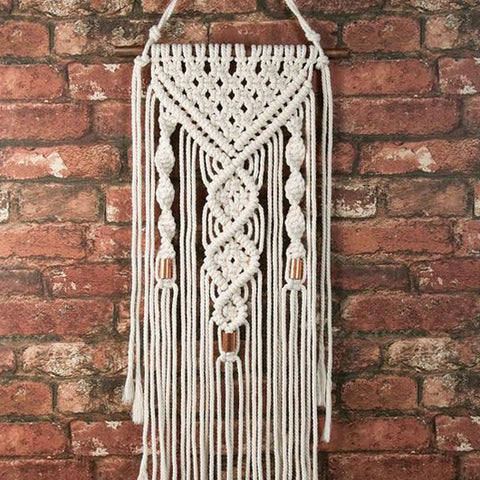 Macramé Wall Hanging Kit: Double Twist