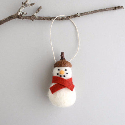 Needle Felting Kit, Snowman