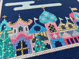 Cross Stitch Santa's Flight