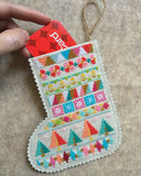 Cross Stitch Mini Stockings