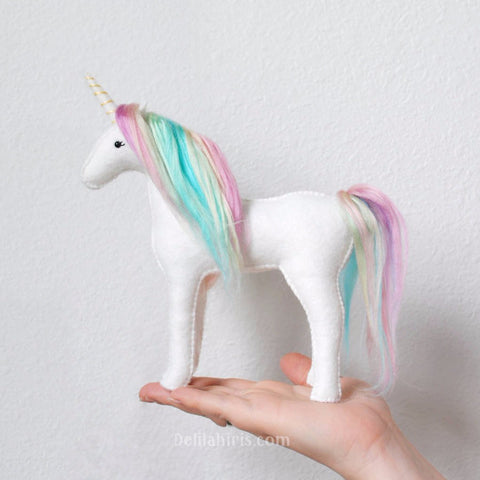 Stuffed Unicorn Sewing Kit