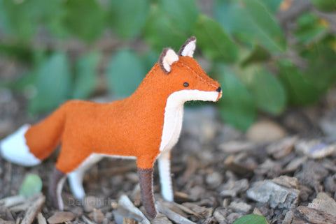 Stuffed Fox Sewing Kit