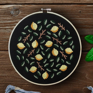 Lemons Cross Stitch