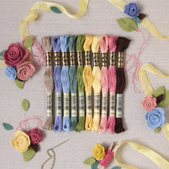 DMC Embroidery Floss, ten pack, 50% off!