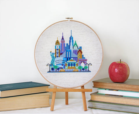 Cross Stitch New York