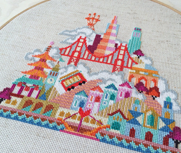 Cross Stitch San Francisco Benzie Design