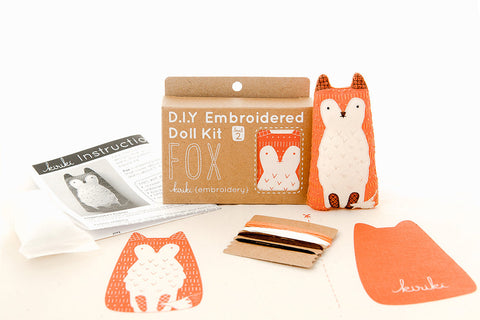 Kiriki Press Embroidery Kits, Level 2