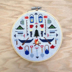 Camping Cross Stitch