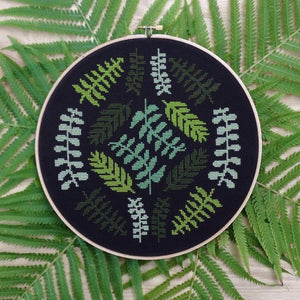 Ferns Cross Stitch