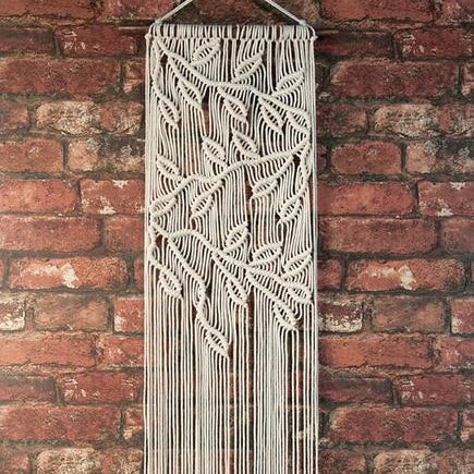 Macram 233 Wall Hanging Kit Leaves Branches Benzie Design