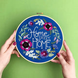 Home Sweet Home Embroidery Pattern