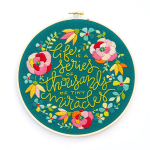 Life and Miracles Embroidery Pattern