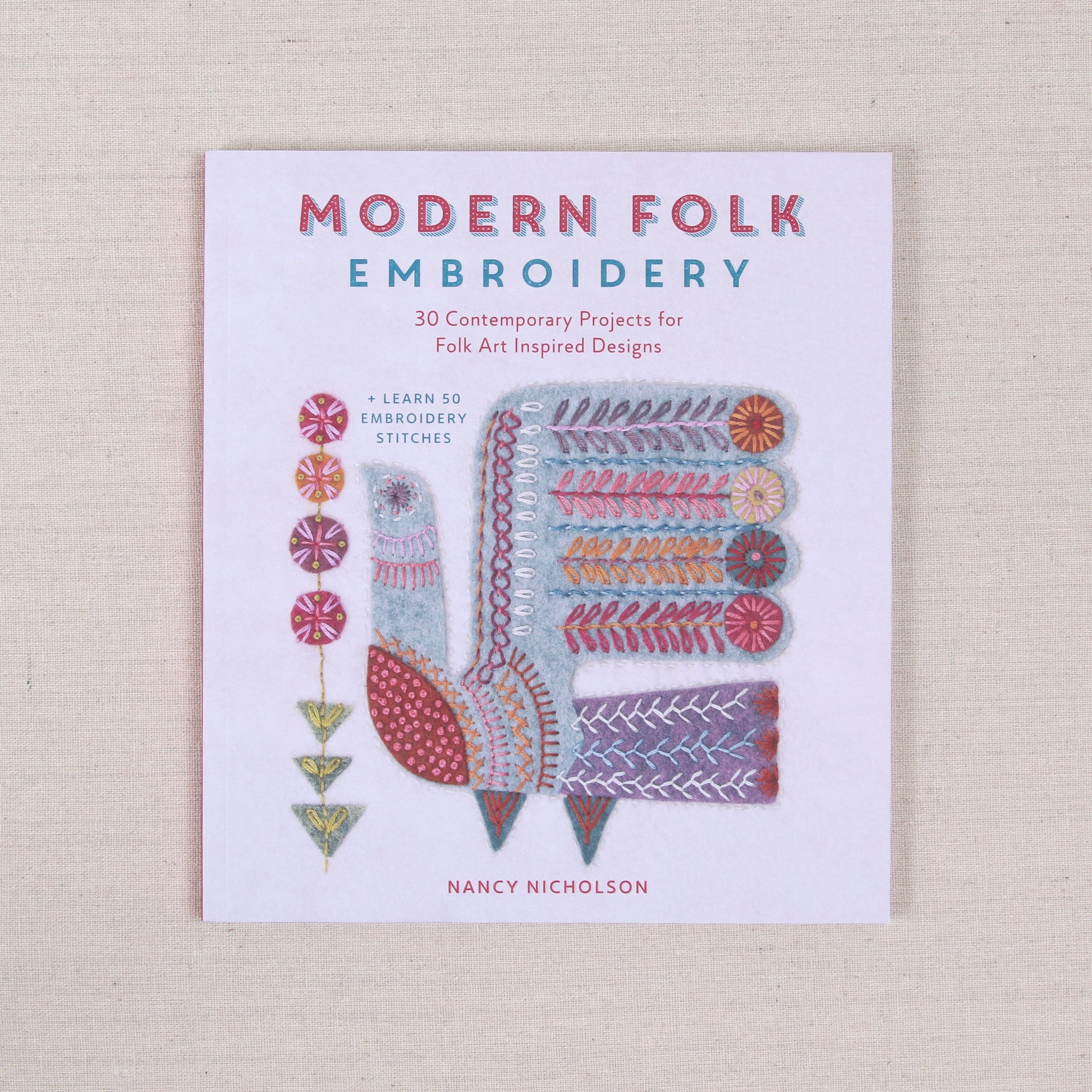 Modern Folk Embroidery Benzie Design