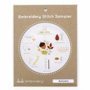 Autumn Stitch Sampler