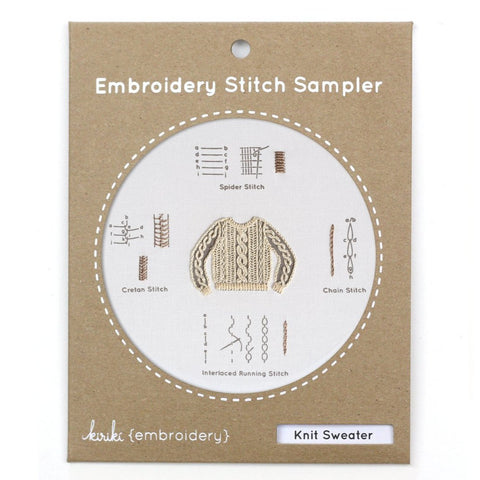 Sweater Stitch Sampler