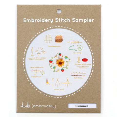 Summer Stitch Sampler