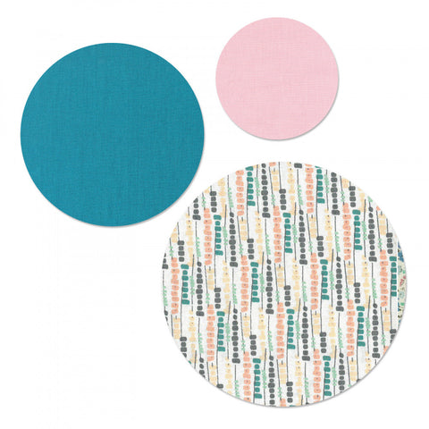sizzix circle die cut