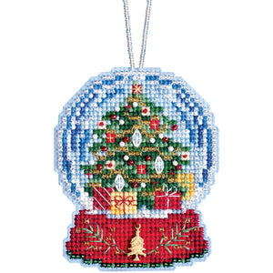 Snow Globe Cross Stitch Kit