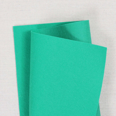 Teal Pure Wool Felt