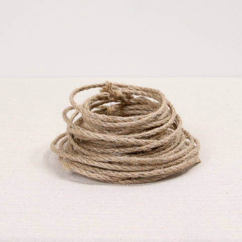 wired jute, jute garland