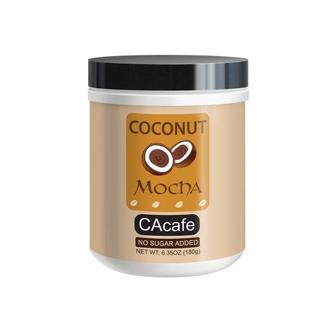 Coconut Mocha Mini Jar (Unsweetened)
