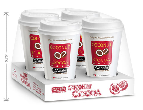 CAcafe all natural coconut cocoa gourmet to go