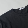 Crew Neck w Pocket - Black