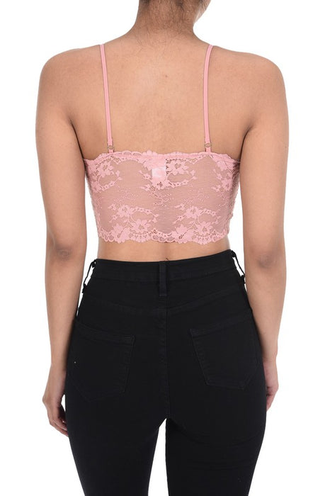 PREORDER! Irene Strappy Lace Bralette (BLACK)